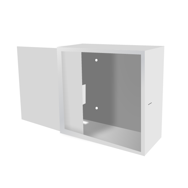 Стальной ящик (шкаф пенального типа) для сетевого оборудования ПК-3Б