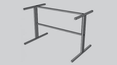 Металлические каркасы мебели,школьная мебель